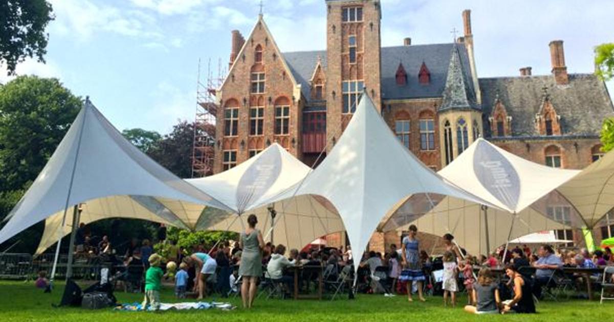 Het eerste Belgische Vegan Kampeerfestival
