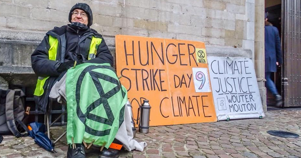 10 dagen hongerstaking voor het klimaat