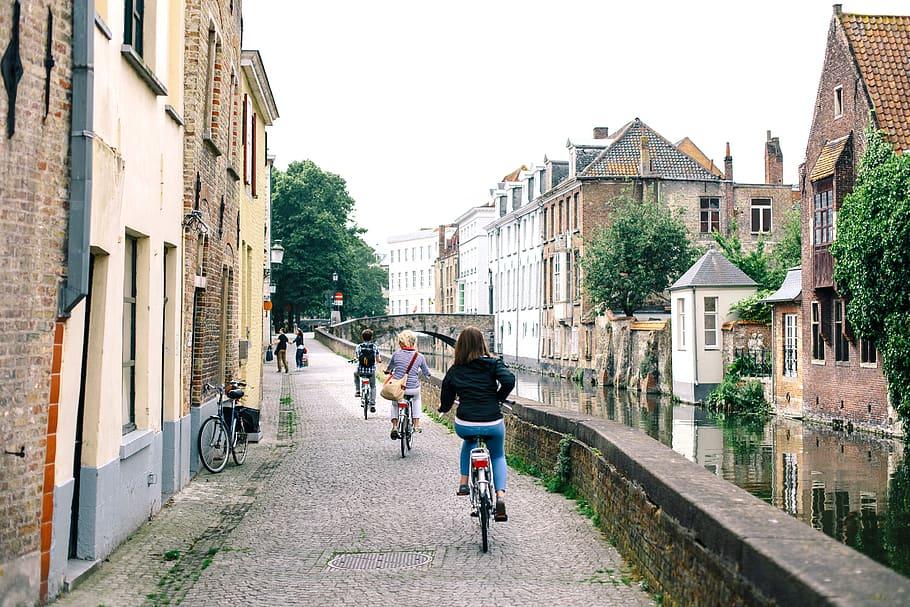 Rapport Fietsstad Brugge: geslaagd, maar pas zesde en net boven het gemiddelde
